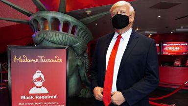 Музеят на мадам Тюсо в Берлин махна статуята на Доналд Тръмп