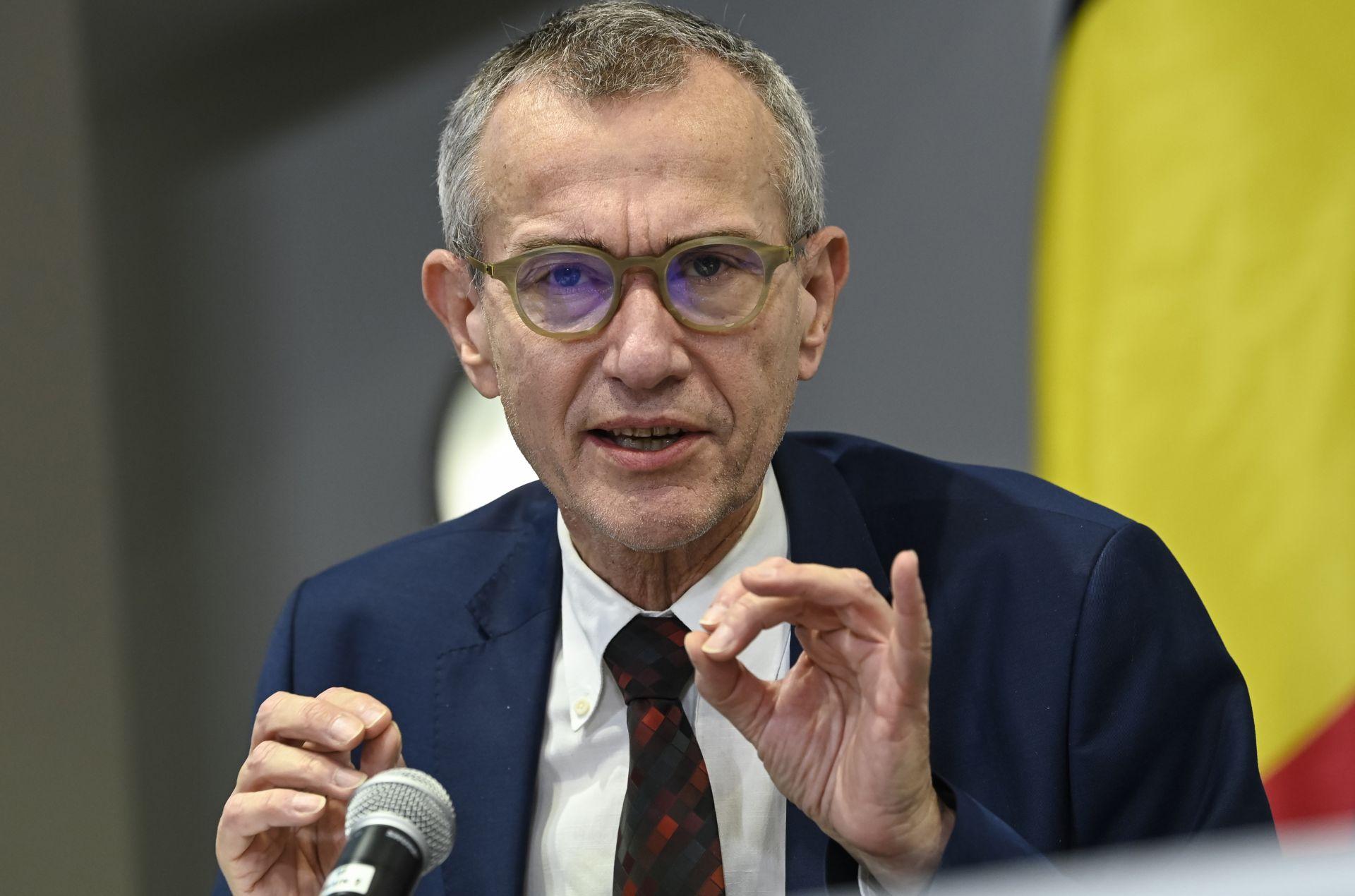Министърът на здравеопазването Франк Ванденбрук