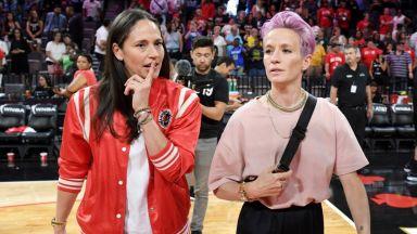 Меган и Сю - две ярки спортни звезди на Америка, обявиха годежа си