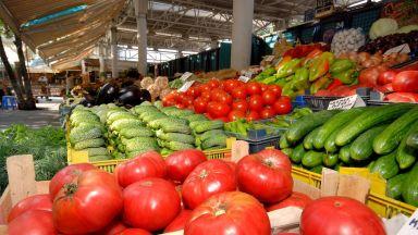 Оранжерийните домати поевтиняха, а червеният пипер поскъпна