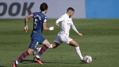 392 дни по-късно: Азар отново вкара за Реал (Мадрид)