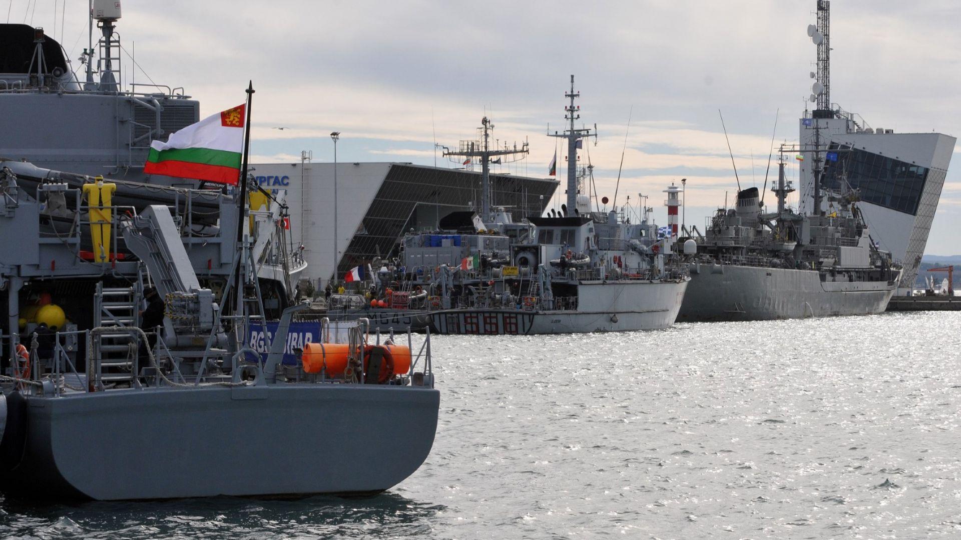 5 кораба на НАТО влязоха в румънски води