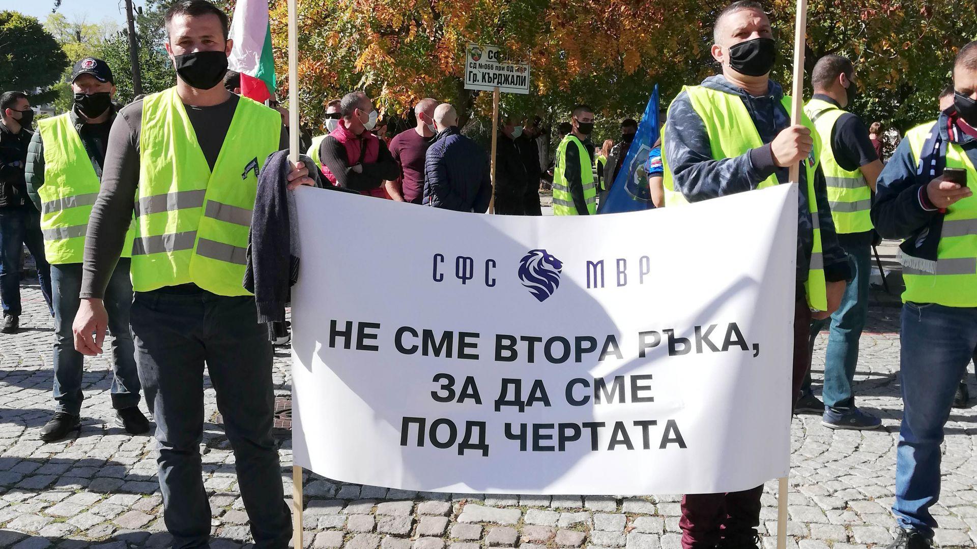 МВР и синдикатите не се разбраха, ще има национален протест