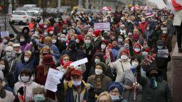 Хиляди пенсионери на пореден протест с искане оставката на Лукашенко