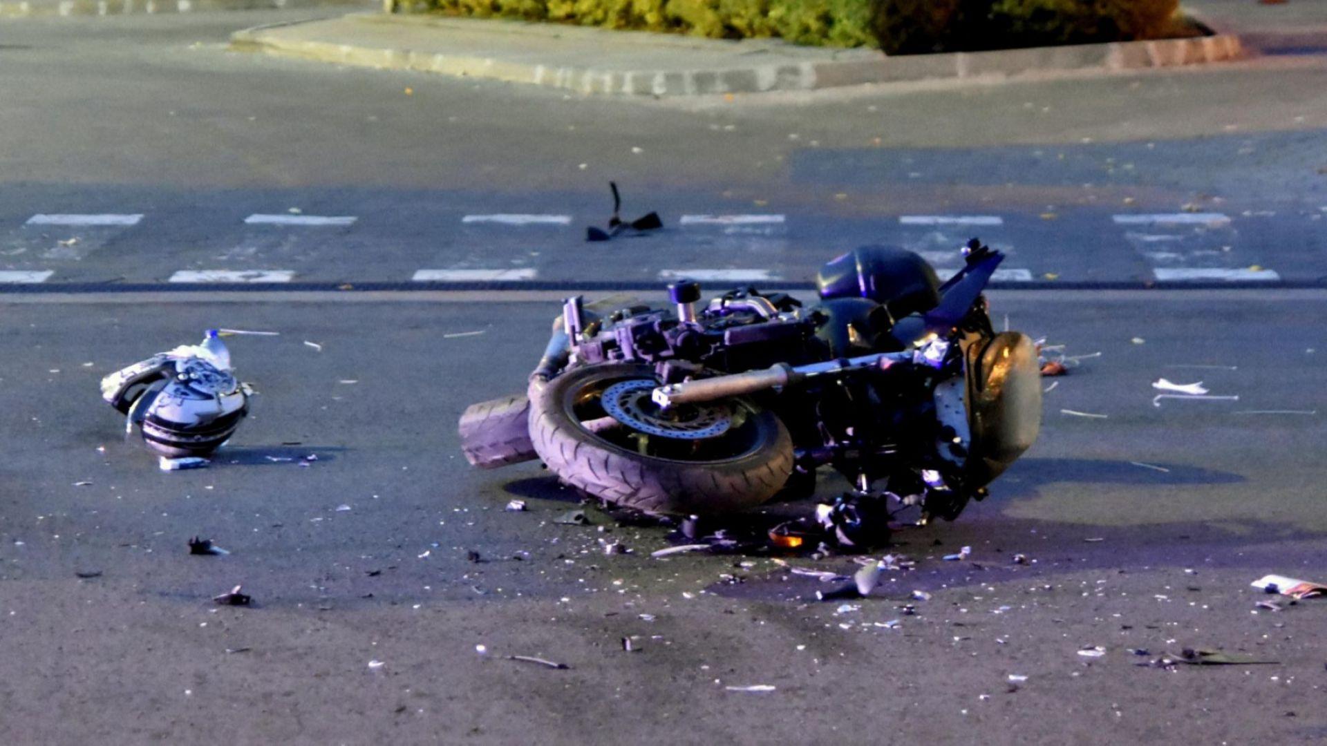 90 000 лева обезщетение за млад мъж, пострадал тежко при катастрофа с мотор