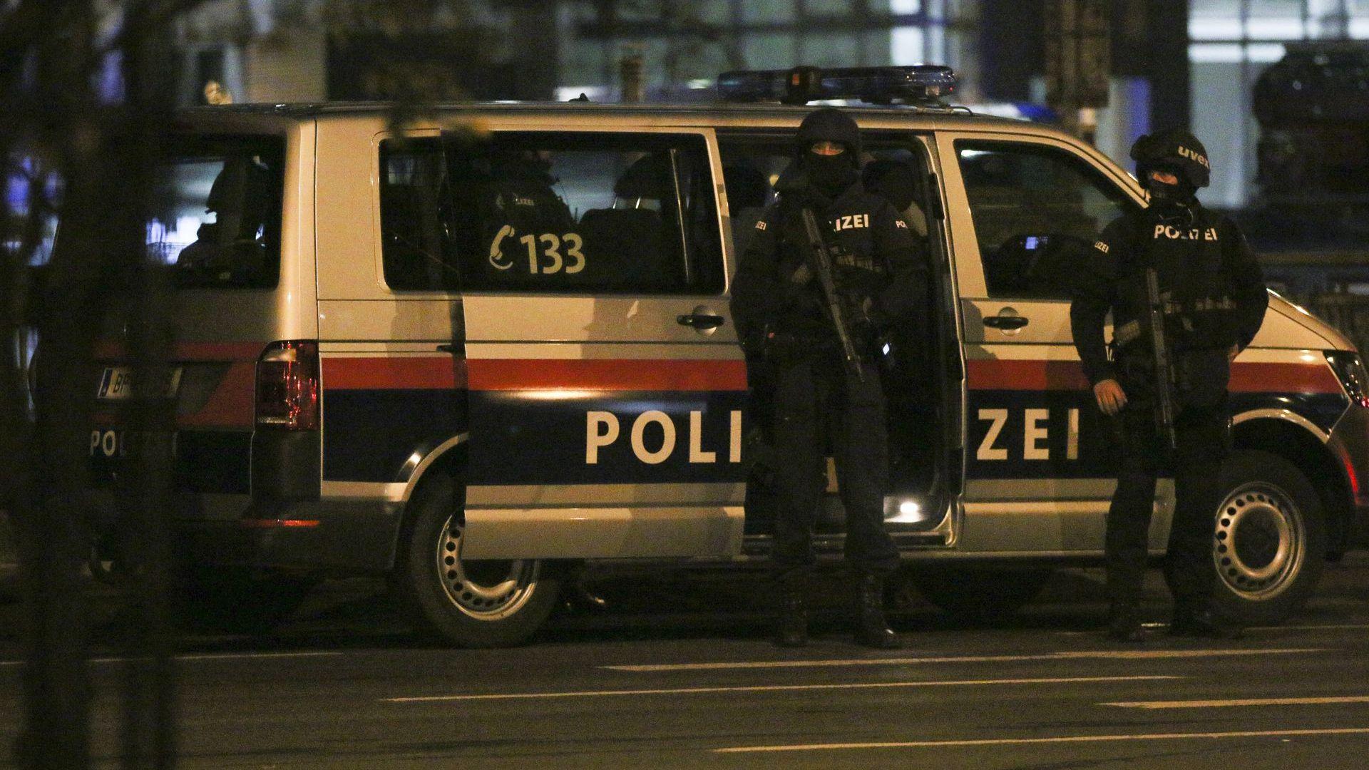 """Застреляният терорист във Виена е с албански корени , близък до """"Ислямска държава"""", има четвърта жертва"""