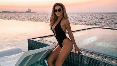 За Нора Недкова лятото продължава сред 7-звездния лукс на Бурж ал Араб