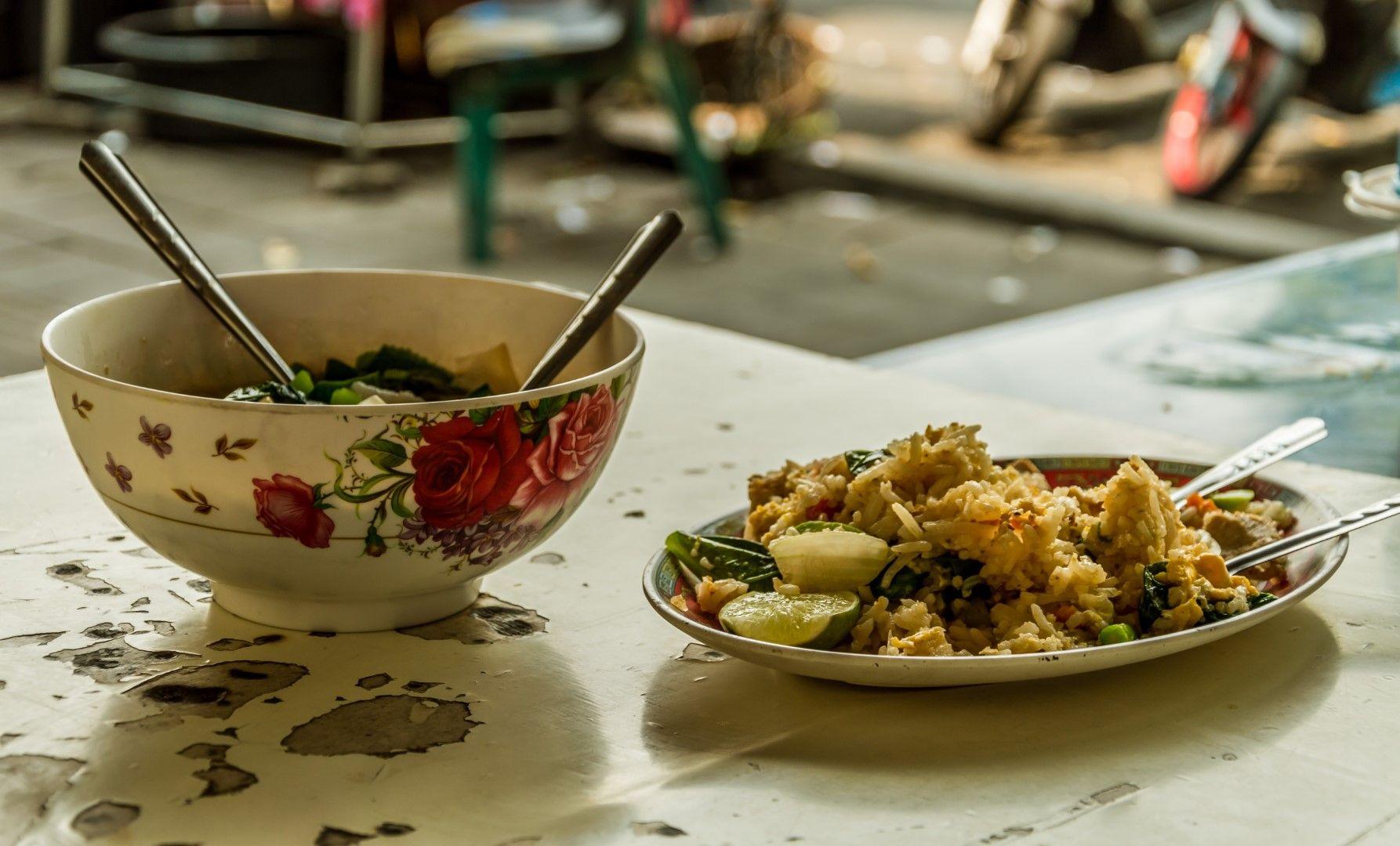 Улична храна в Банкок