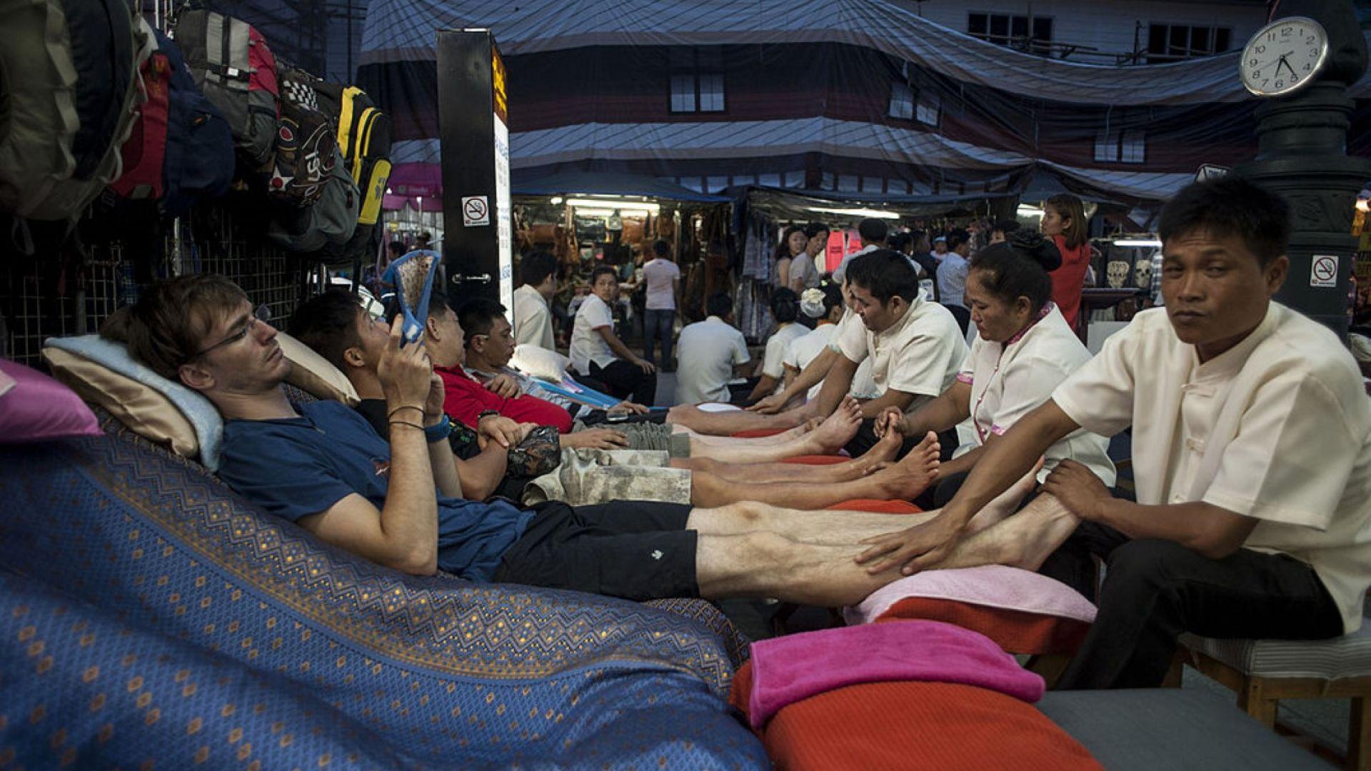Масажът е задължително преживяване в Тайланд