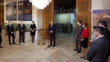 Румен Радев: България разчита на уменията на лидерите в бизнеса