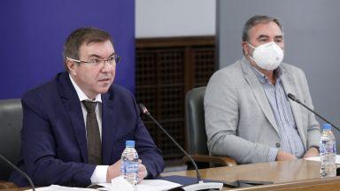 Гледайте на живо в Dir.bg: Здравният министър в оставка: Решението за разформироване на Щаба е логично