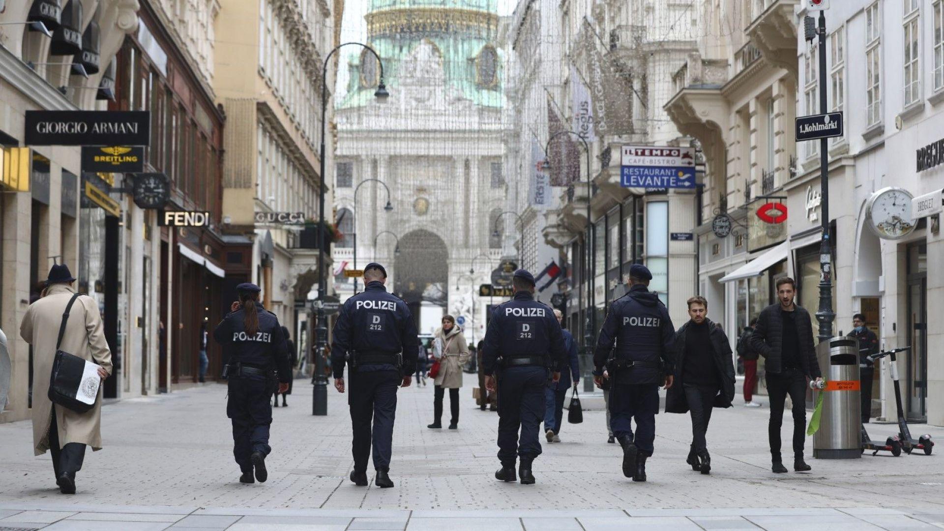 Голям протест срещу COVID мерките във Виена
