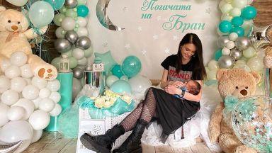 Луиза Григорова сама приготви погача за сина си