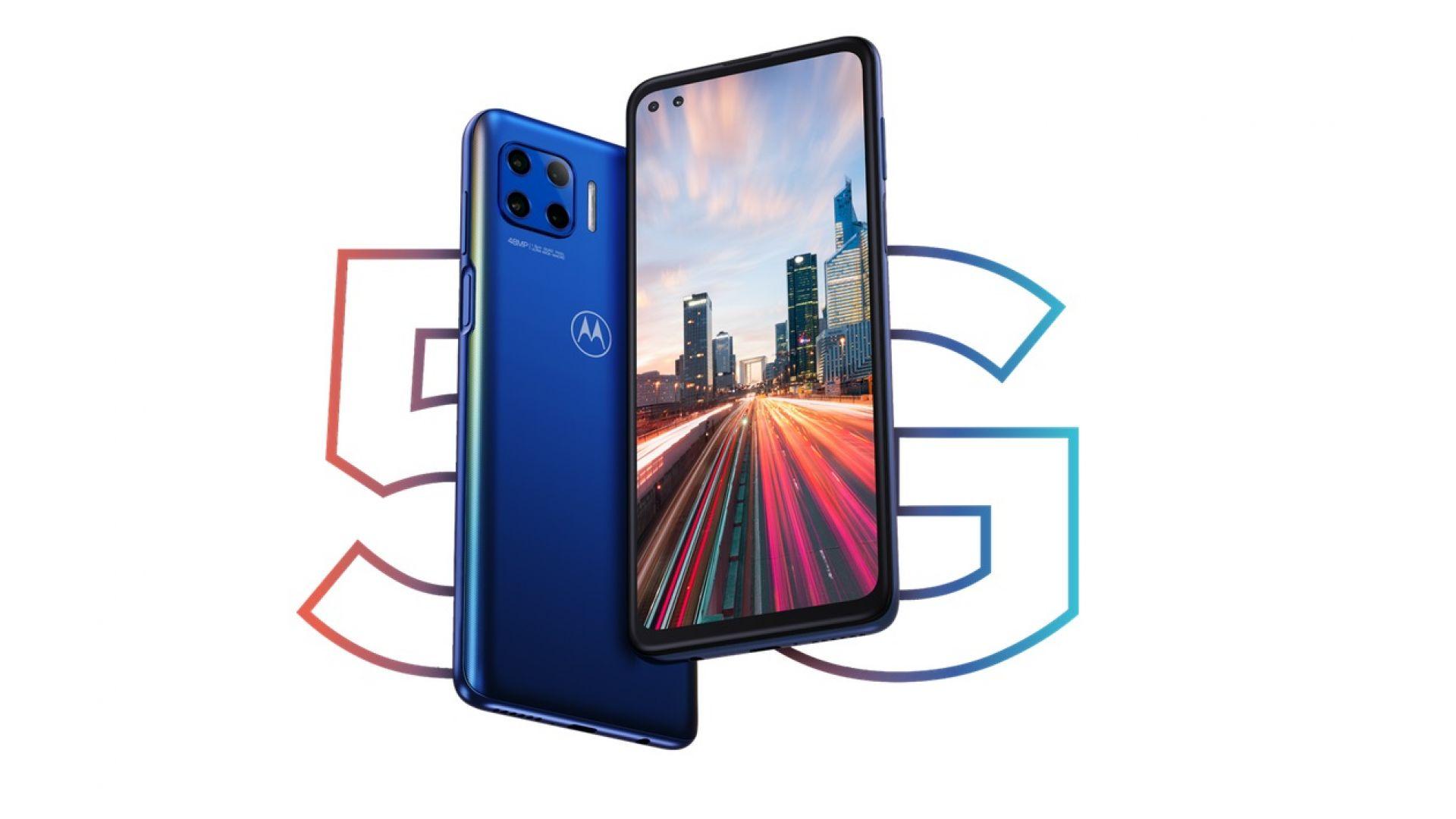 Motorola представи смартфона Moto G 5G