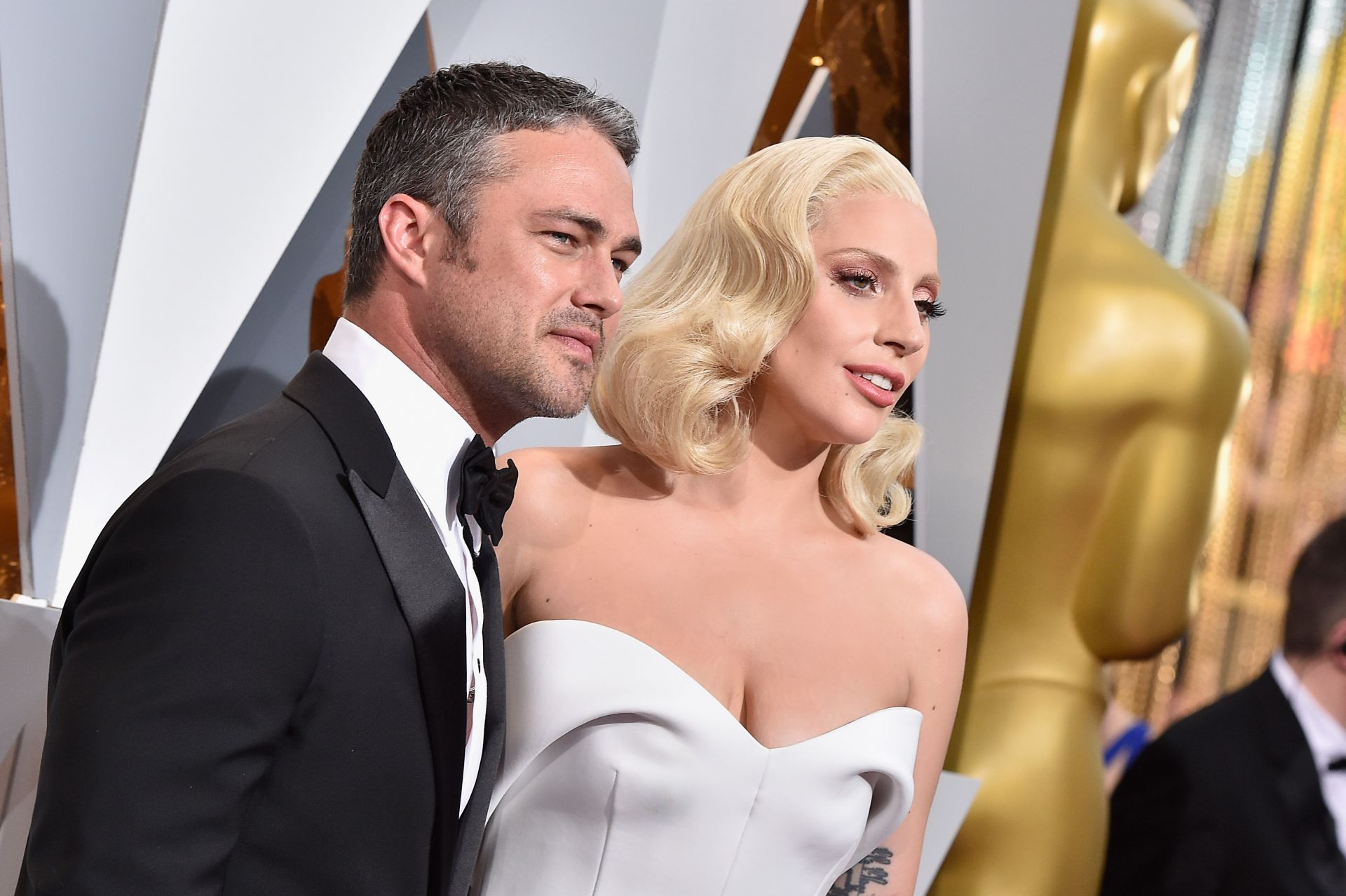 Лейди Гага с бившия си годеник Тейлър Кини