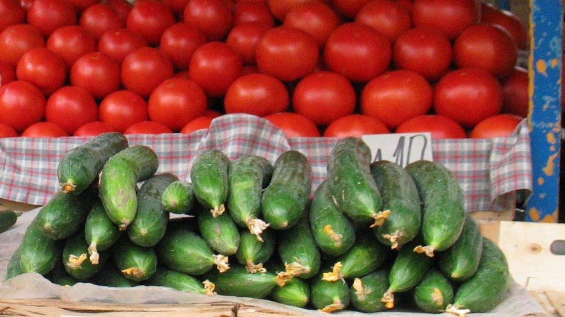 Драстична разлика с цените на доматите и краставиците в началото на декември