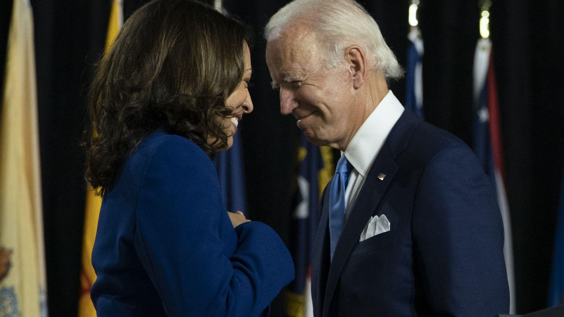 Джо Байдън: За мен е чест и съм смирен! Камала Харис: Чака ни много работа!