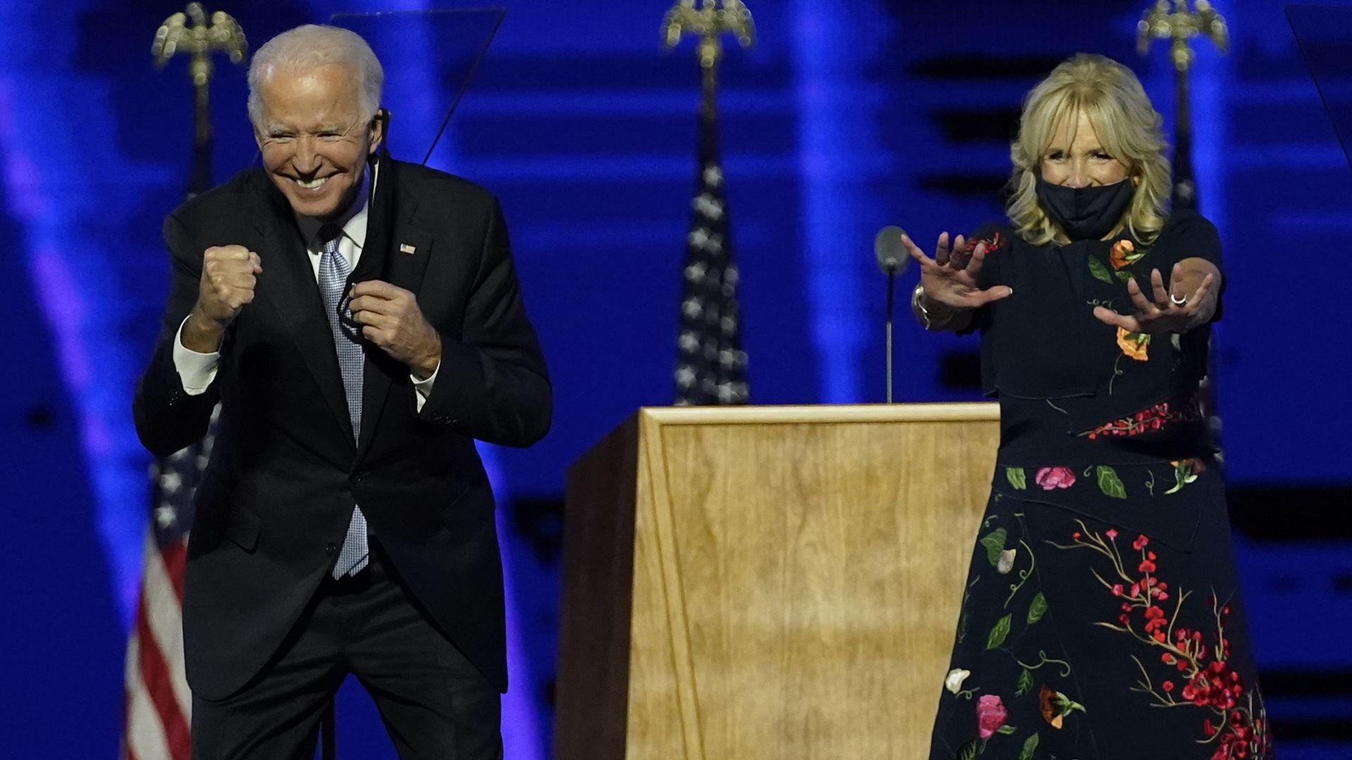 Избирането на Джо Байдън за президент на САЩ - връх в белязан от изпитания живот
