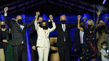 В първа реч като избран президент Байдън обеща да победи разделението в САЩ
