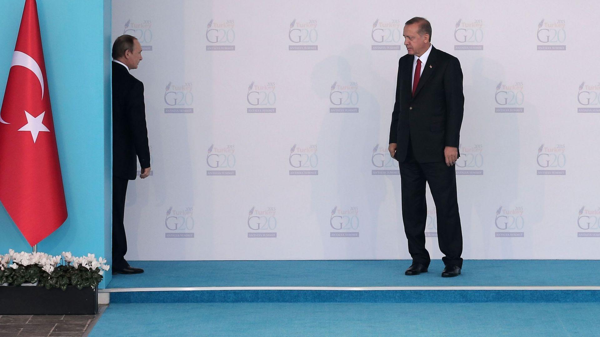 """Путин и Ердоган координираха позиции за Нагорни Карабах и """"други регионални въпроси"""""""