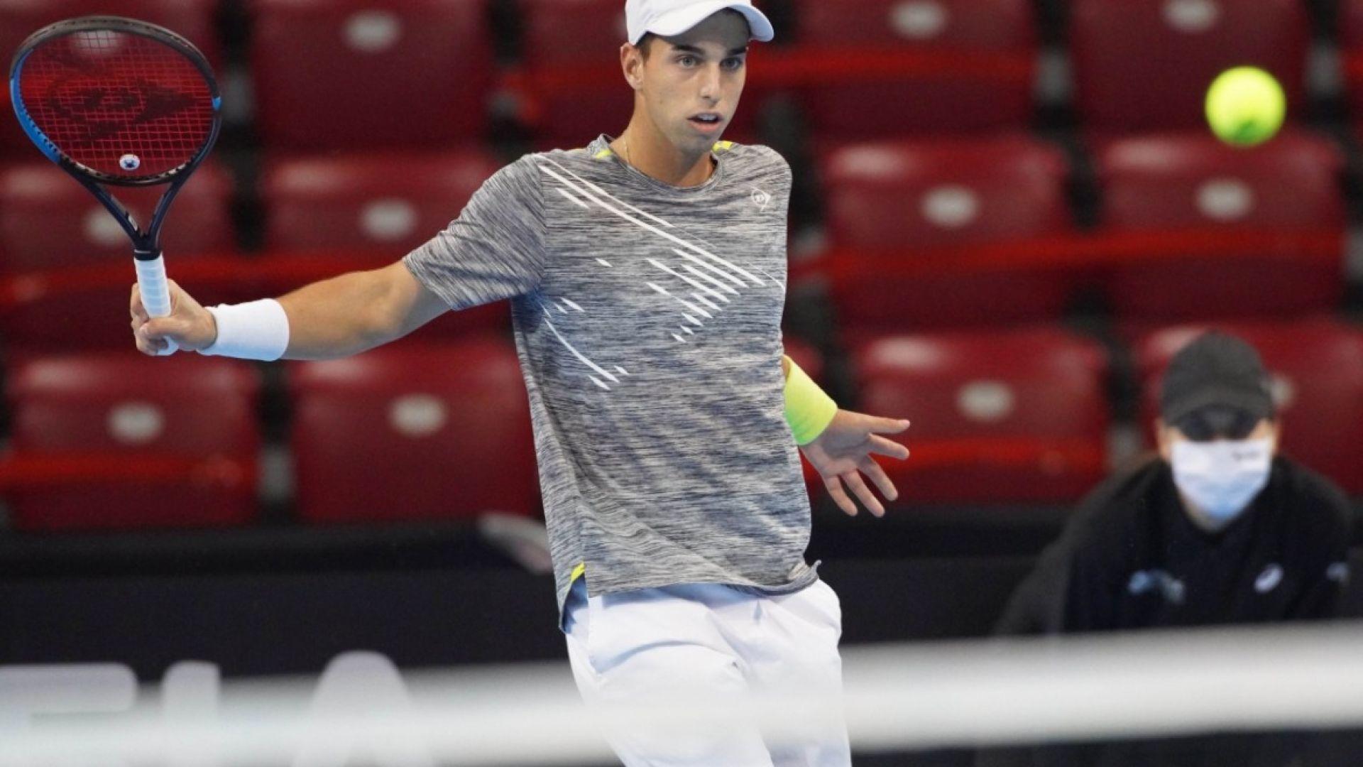Адриан Андреев няма спирка и постигна първа победа в основна схема на АТР турнир