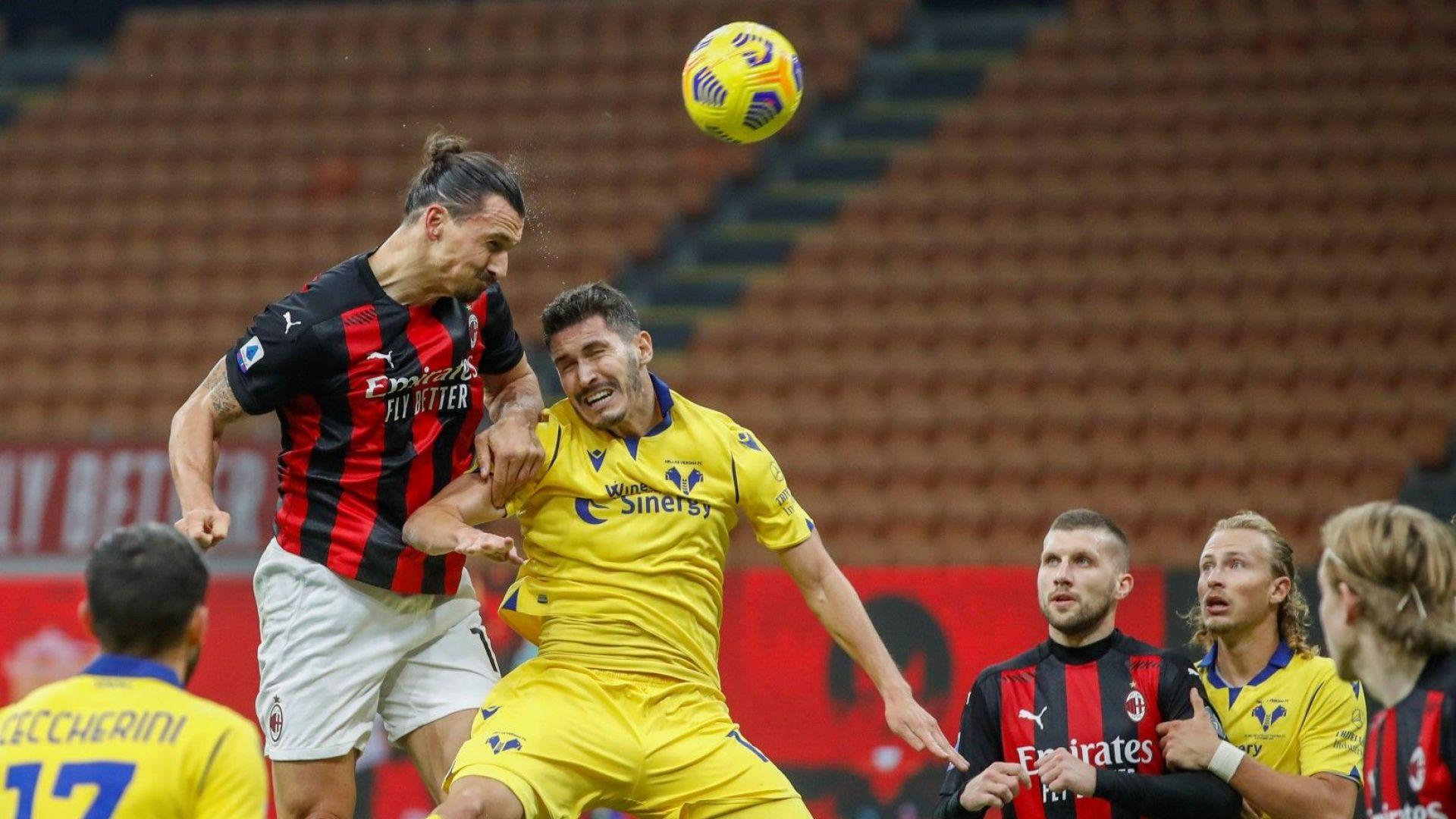 Ибра бе грешник, после стана герой - пореден мач на Милан под знака на Златан