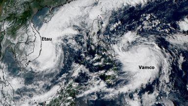 След Ета - Рекордна тропическа активност в Атлантика, но и Тихия океан
