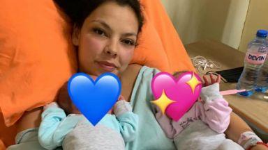 Мис България Райна Налджиева роди близнаци след прекаран COVID-19