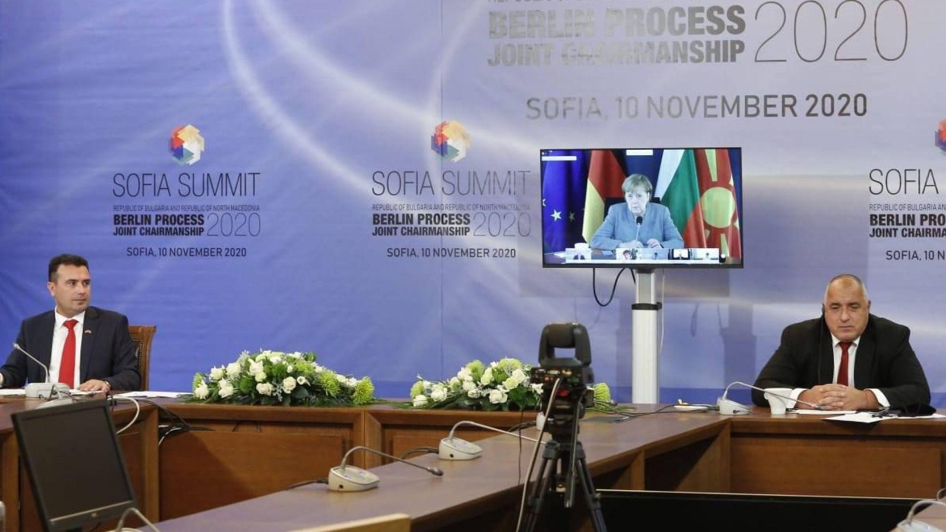 Борисов пред Меркел: Потвърждаваме ангажираността си за развитие на Западните Балкани