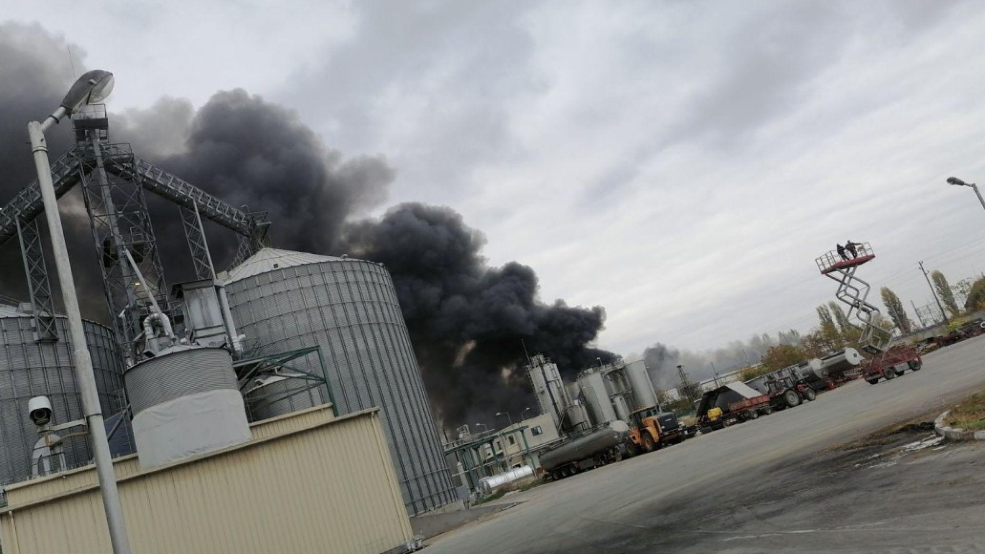 Пожарът в завода в Катуница тръгнал от полипропиленови бидони