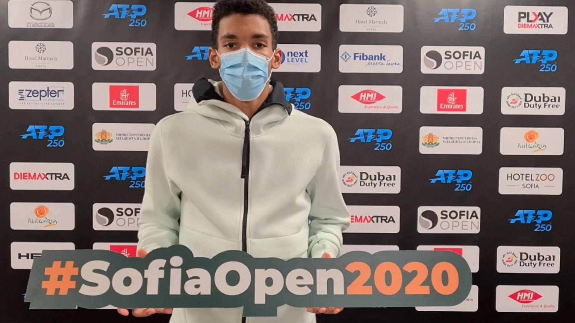 Феликс Оже-Алиасим има добър приятел сред българските тенисисти