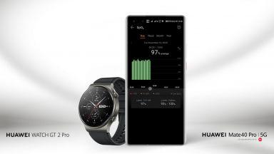 Актуализация на Huawei Watch GT 2 Pro позволява постоянно следене на наситеността на кръвта с кислород