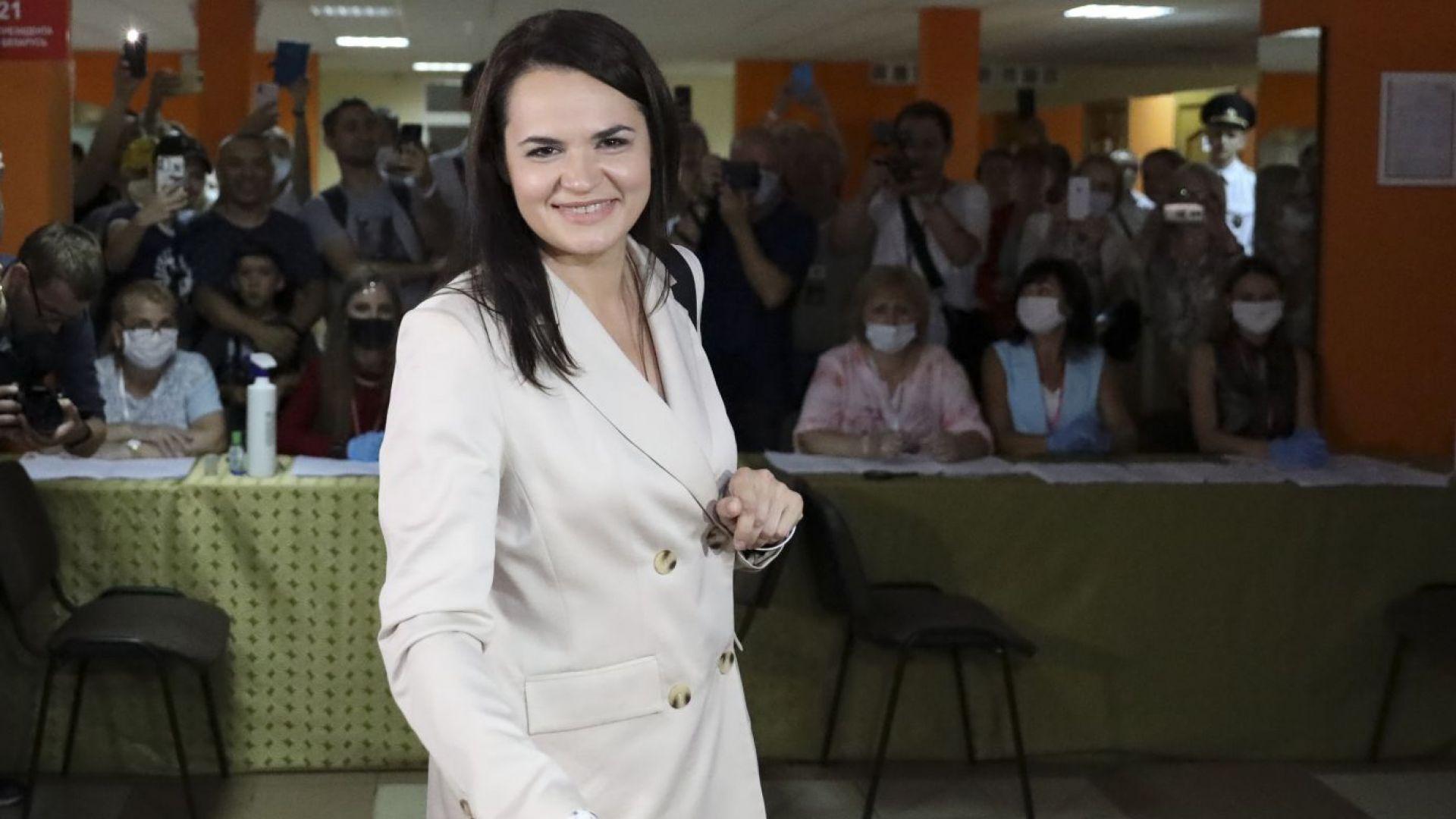 Тихановска: Гражданите на Беларус вярват, че времето на диктатора изтича