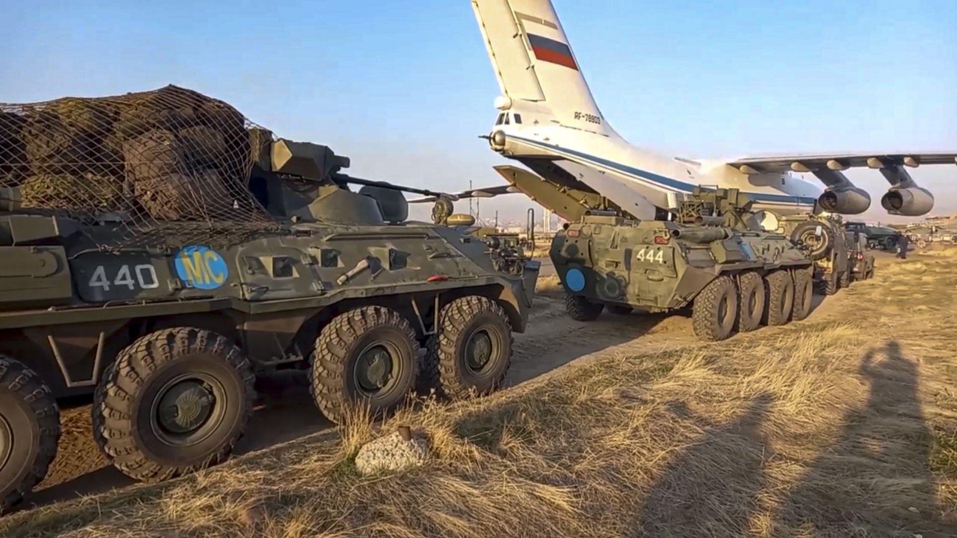 Путин начерта червена линия за Ердоган със сделката за Нагорни Карабах