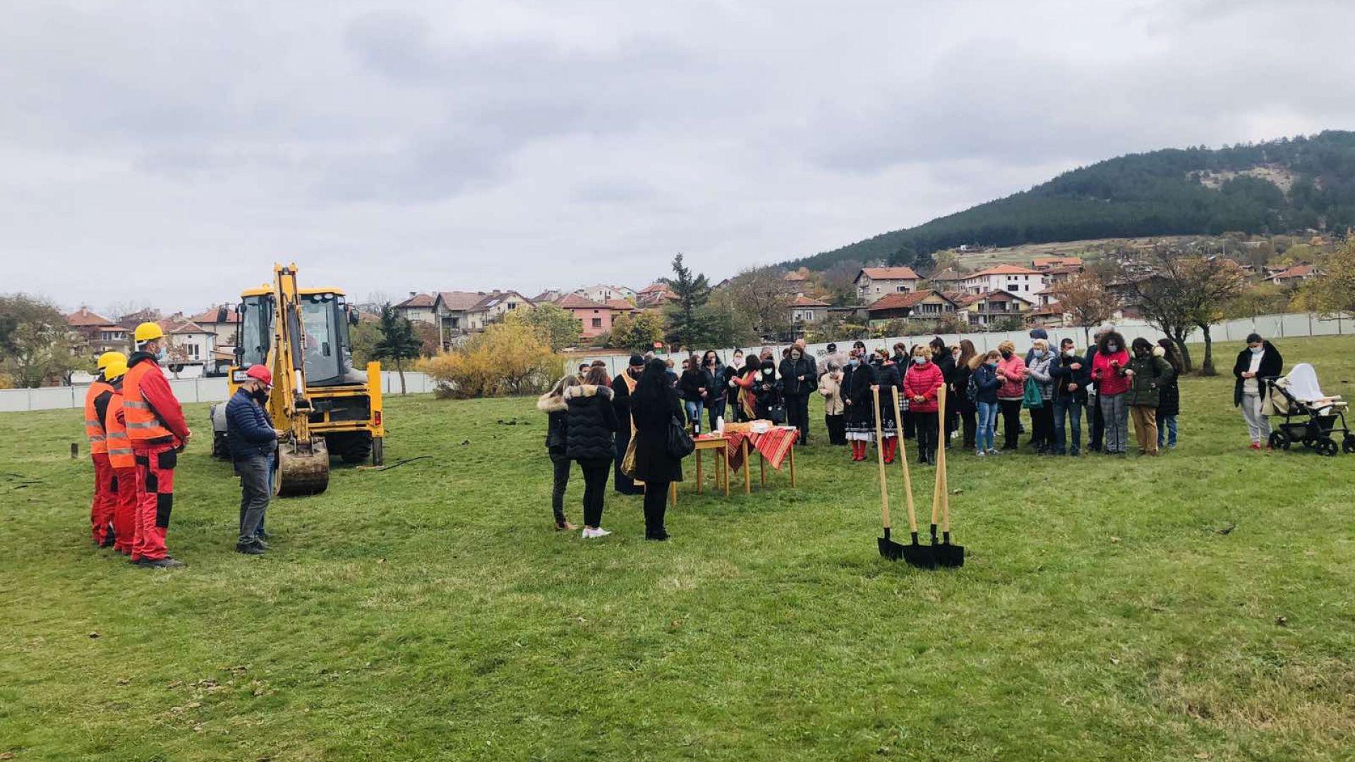 """Започна изграждането на детска градина в """"Кремиковци"""""""