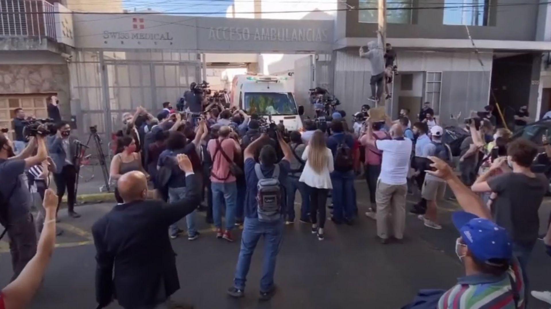 Марадона бе изписан от болницата, но ще лекува зависимост (видео)