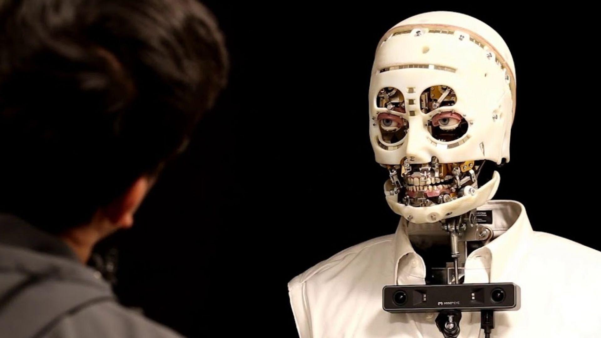 Disney създаде плашещо реалистичен робот