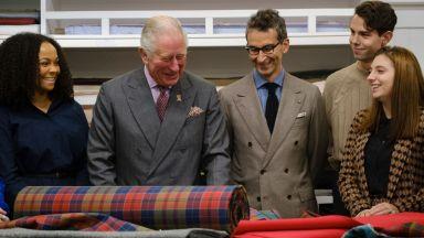 Принц Чарлз навлиза в света на устойчивата мода