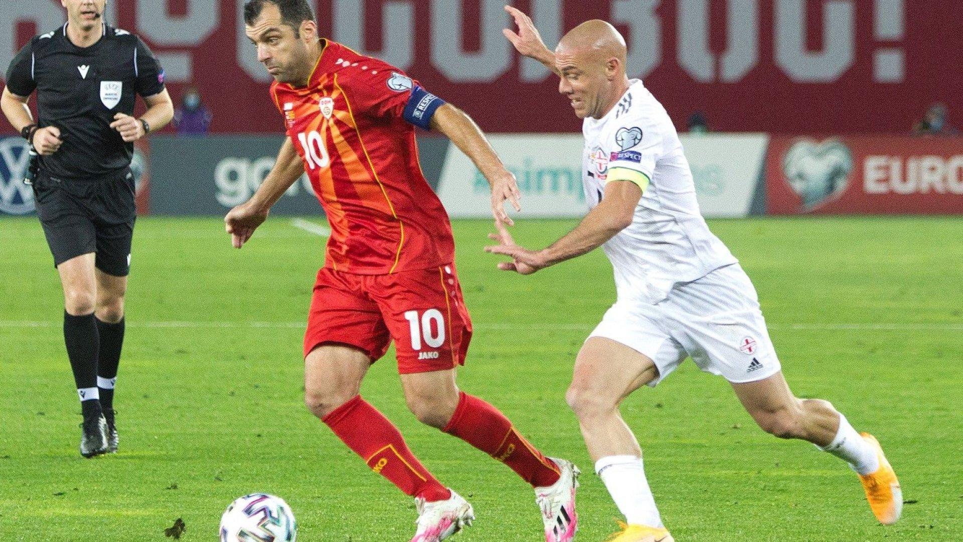 Звездата на Северна Македония е по-стар от държавата, шегуват се в Англия