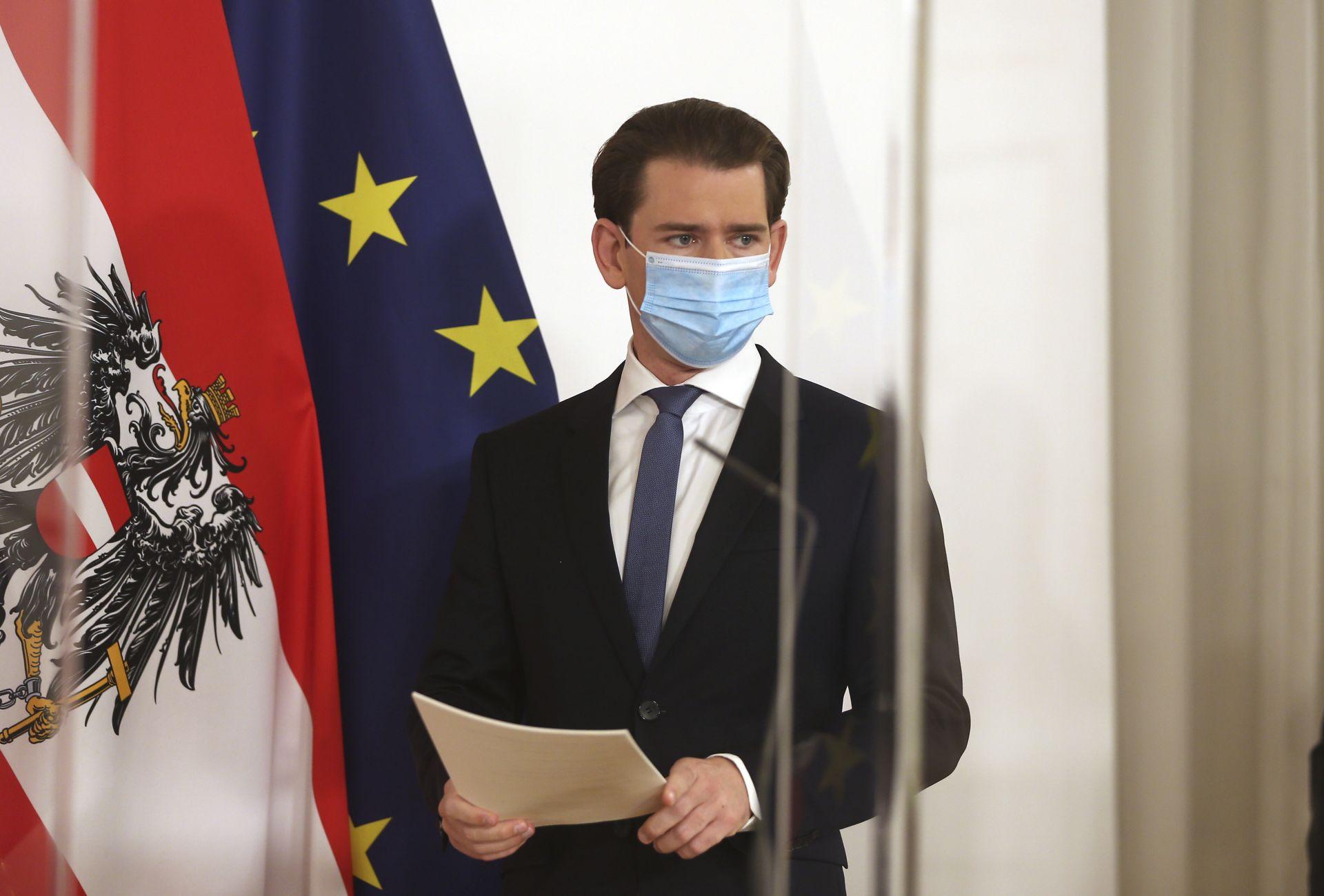 Австрийският канцлер Себастиан Курц