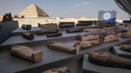Ново откритие в некропола Сакара: Поне 100 саркофага с мумии и статуи (ВИДЕО И СНИМКИ)