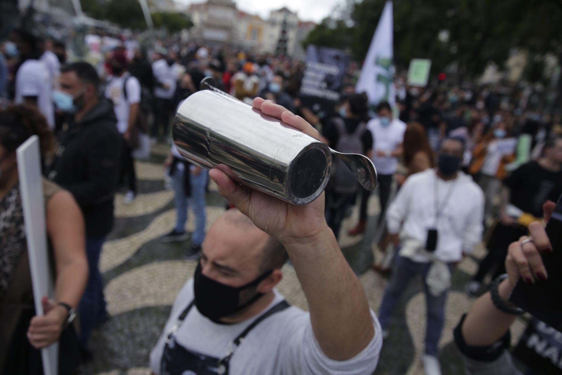 Протестите в Португалия