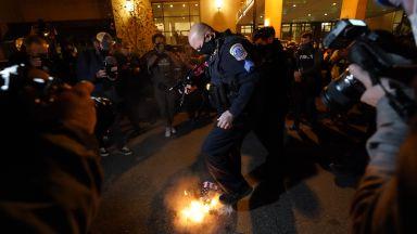 Сблъсъци окървавиха Марша на милионите във Вашингтон