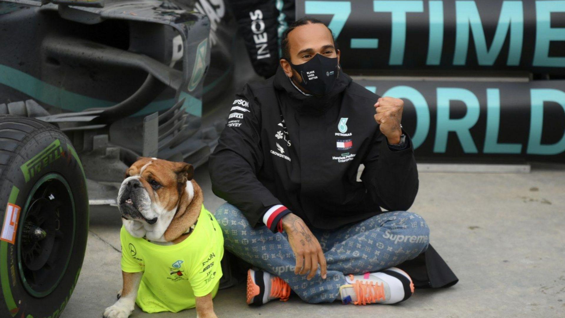 Хамилтън след титла №7:  Най-важното състезание е срещу расизма