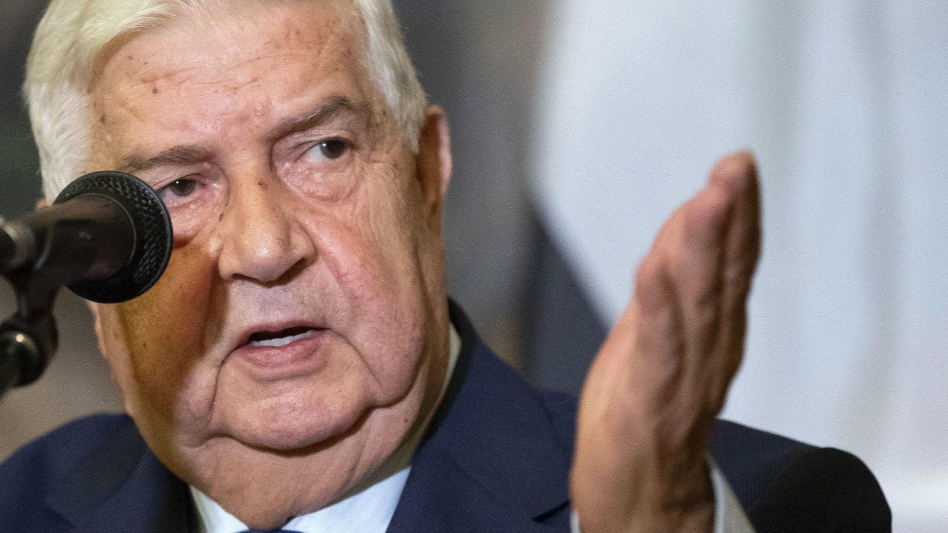 Почина едно от лицата на гражданската война в Сирия - външният министър Уалид ал Муалем