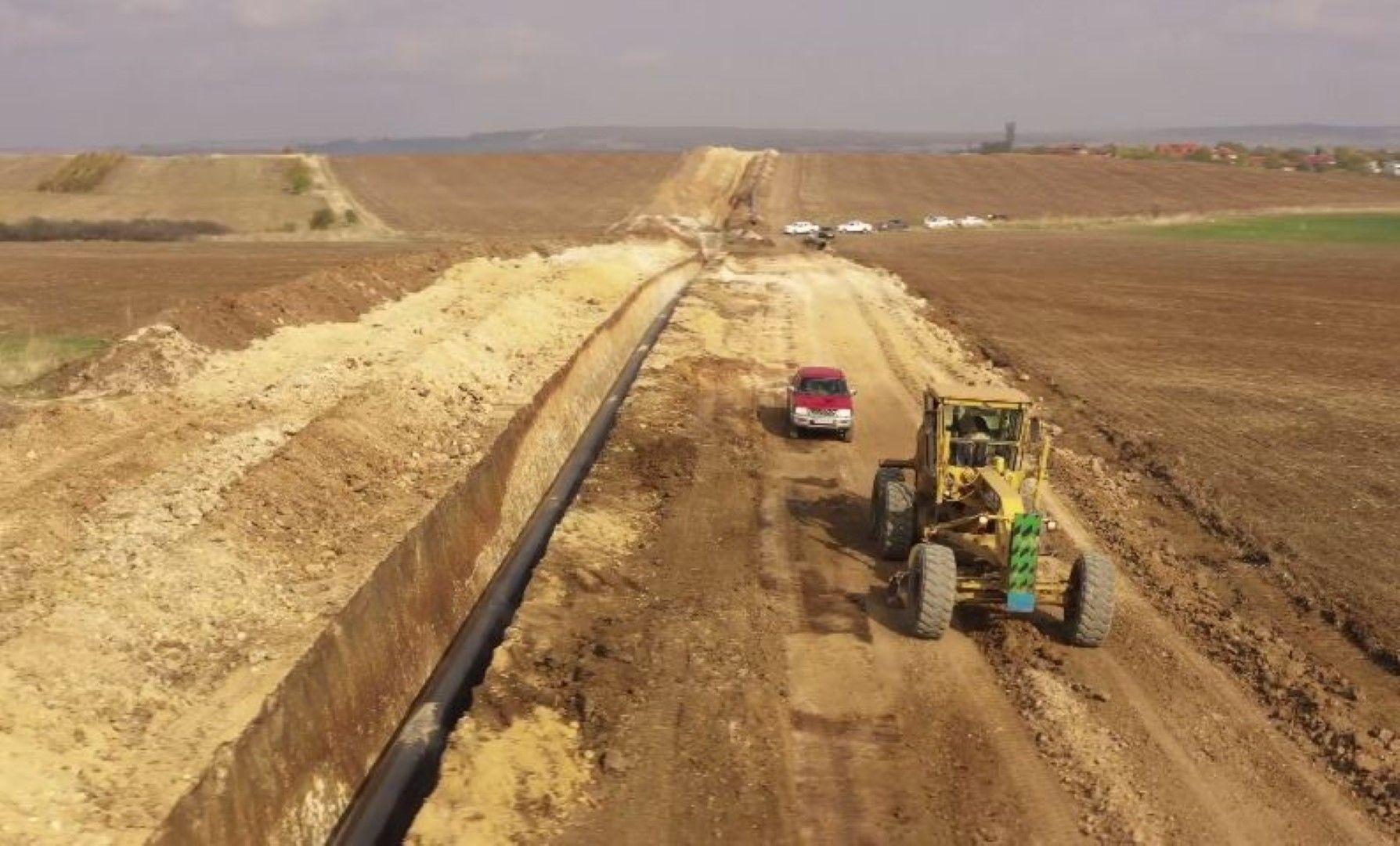 ICGB: Строителството на интерконектора с Гърция напредва без нито едно нарушение