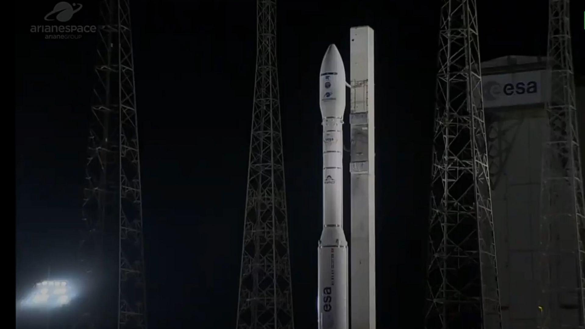 Мисията на европейската ракета носител Вега се провали (видео)