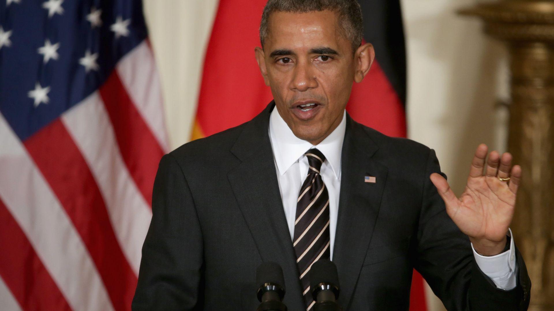Барак Обама: Виждал съм летящи чинии