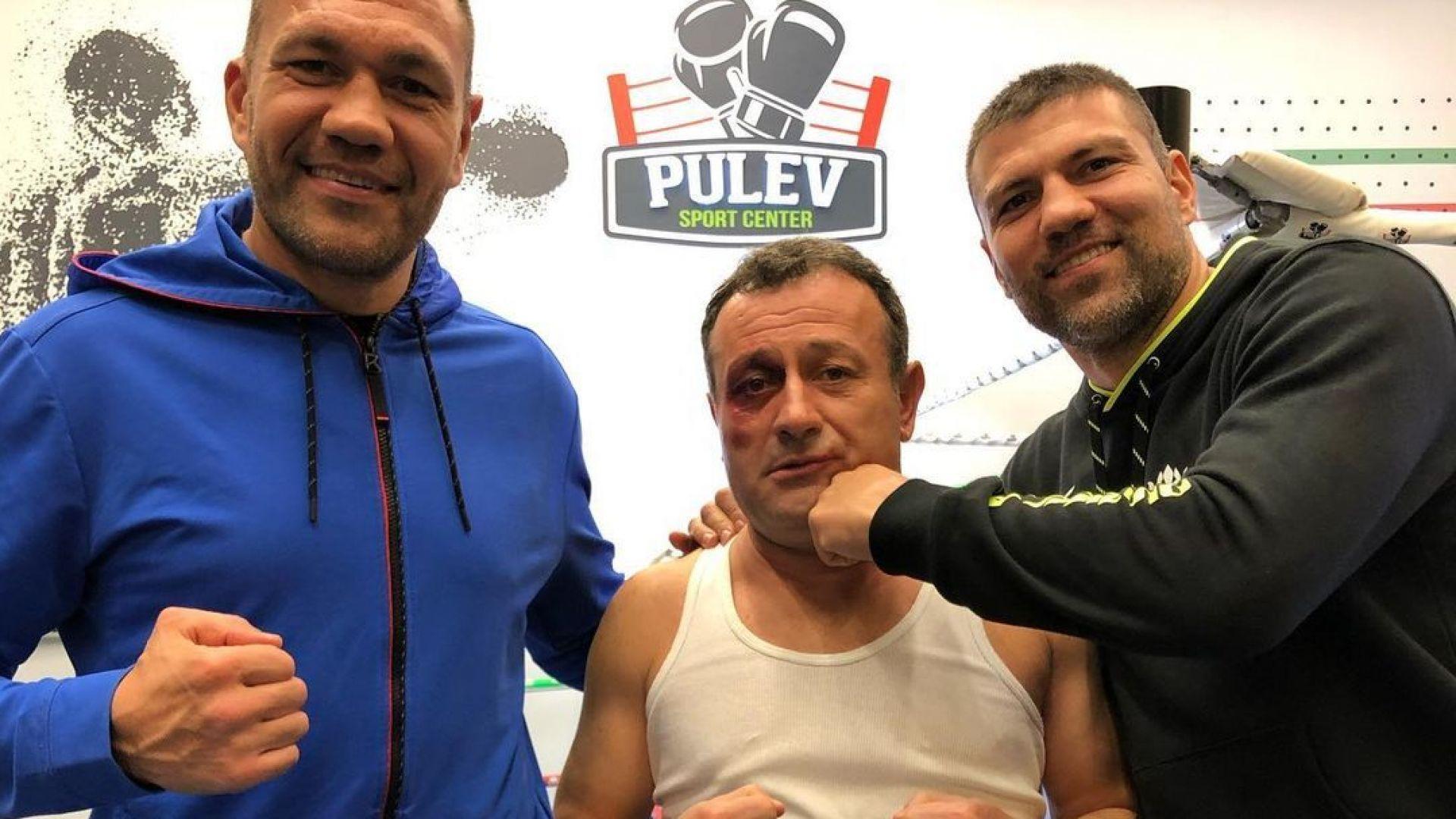 Тервел Пулев за насинения Рачков: Много носи на бой