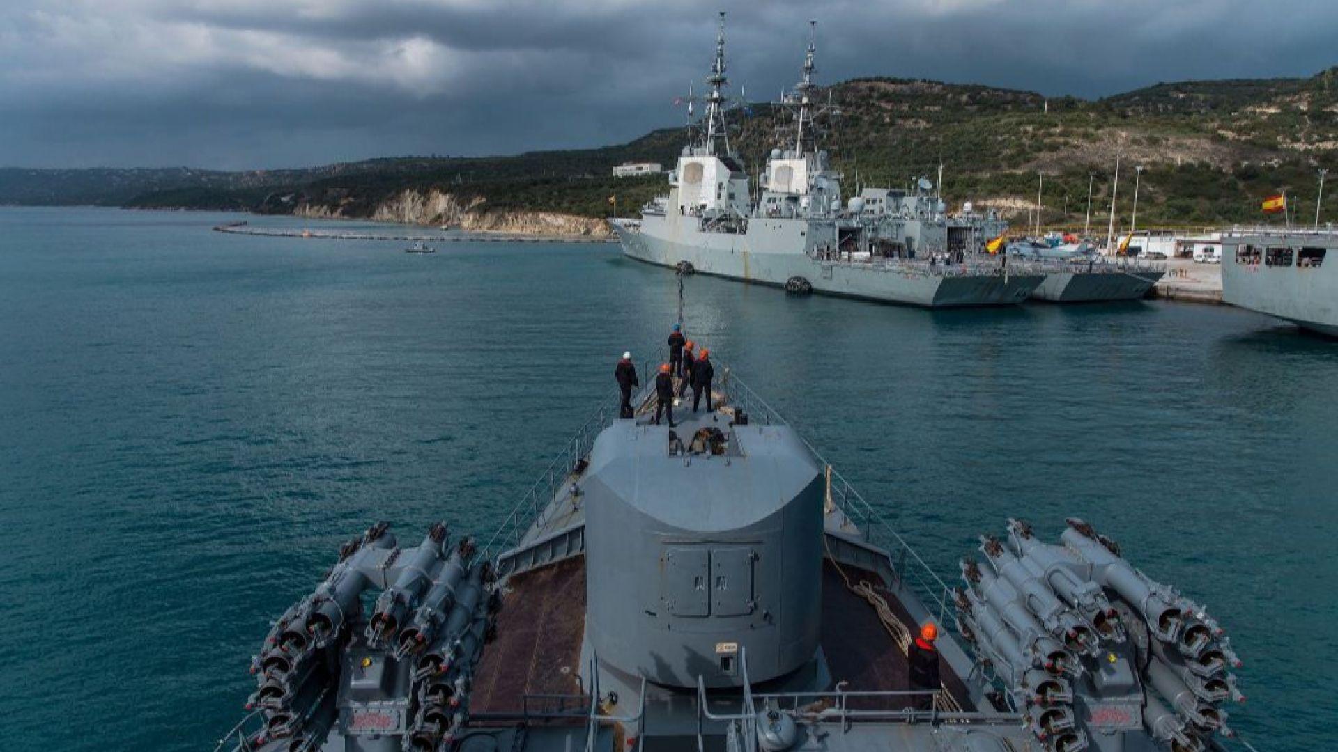 "Испански адмирал даде висока оценка на работата на фрегатата ни ""Смели"" (снимки)"